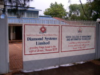 Highlight for Album: Welcome to Diamond Systems and Kenya College of Management and information Technology.