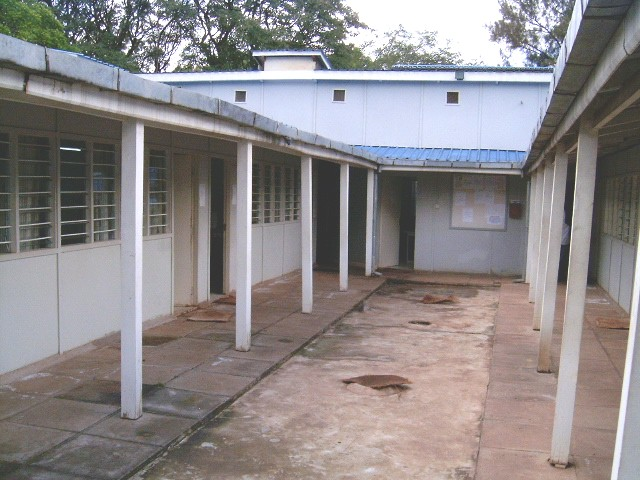 View of the classroom from rear